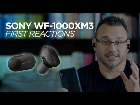 The Sony WF-1000XM3 Earbuds Blew Me Away!