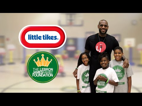Little Tikes To Release Line Of Sports Products To Benefit The LeBron James Family Foundation