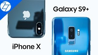 Samsung Galaxy S9 Plus vs iPhone X - The ULTIMATE Camera Comparison!