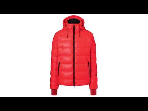 Bogner Lasse 3 Mens Jacket in Bright Orange