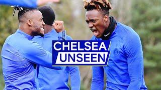 Tammy Abraham back in training...and nutmegs Jorginho!😱Ruben Loftus-Cheek in squad | Chelsea Unseen