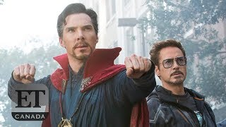 'Avengers' Cast Talk Iron Man Doctor Strange 'Infinity War' Clash