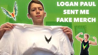 LOGAN PAUL SENT ME FAKE MAVERICK MERCH!!!