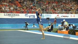 FERRARI Vanessa (ITA) – 2014 Artistic Worlds, Nanning (CHN) – Qualifications Floor