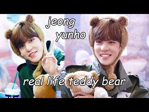 [ATEEZ] jeong yunho: real life teddy bear