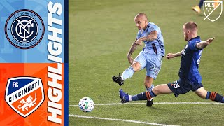 New York City FC vs. FC Cincinnati | September 26, 2020 | MLS Highlights