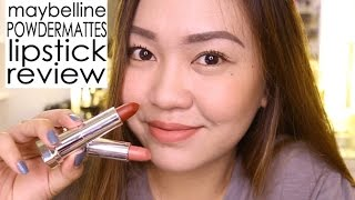 Walang FUNDA On the Go Makeup + Maybelline Powder Mattes Lipstick REVIEW!