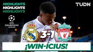 Highlights | Real Madrid 3-1 Liverpool | Champions League 2021 - Cuartos Ida | TUDN