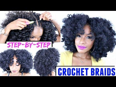 Crochet Hair Step By Step : How To: Crochet Braids Step-by-Step Tutorial X-Pression Cuevana ...