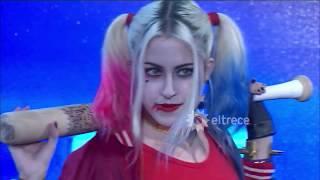 Harley Quinn encandiló con su belleza fatal