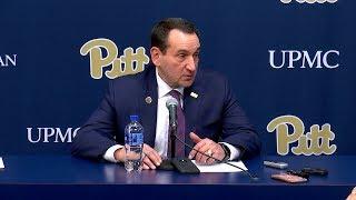 Men's Basketball   Duke Head Coach Mike Krzyzewski   Post-Game Press Conference