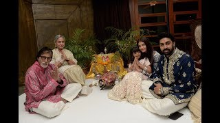 This is how Bachchans, Priyanka Chopra celebrated Diwali, ..
