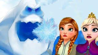 Eva Froze Arendelle ! Merida Saves Jack ! Two Sisters Episode 50 - Queen & Princess
