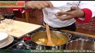 Porcini Mantarlı Risotto Yemek Tarifi canlı yapılışı izle