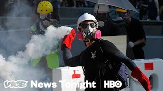 """Hong Kong Protesters Are Pissed Police Are Arresting Them For """"Rioting"""""""