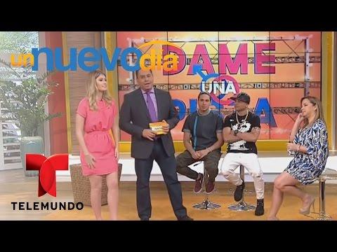 Jacob Forever y Nerea Camacho juegan a ¡Dame una pista! | Un Nuevo Día | Telemundo