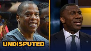Jay Z turns down the Super Bowl Halftime Show -  Shannon and Skip speculate why   UNDISPUTED