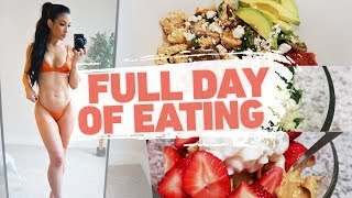 What I Normally Eat In A Day (Simple Meal Ideas + Macros) | Physique Update