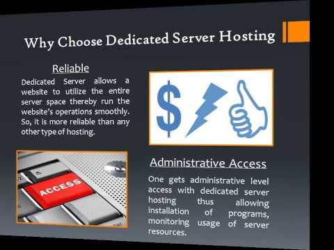 Dedicated Server Hosting Explained In Detail
