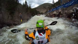 Go pro compétiton de kayak