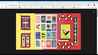 Lotería google doodle popular game free online play and win