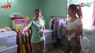 Cát Tường bất ngờ tới thăm 'hang ổ' nữ diễn viên Hồng Trang.