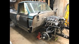 Finnegans Garage Ep.35: Welder Contest Winner and Mandrel Bent Pipes for my C10