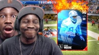 HERMAN MOORE IS A CHEAT CODE! Madden 17 Draft Champs Gameplay