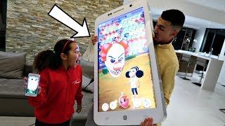 Crazy Clown In My Game! (Bubble Pop)  Toys AndMe