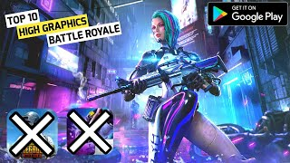 TOP 10 HIGH GRAPHICS BATTLE ROYALE GAME LIKE FREE FIRE & PUBG MOBILE UNDER 1 GB |BATTLE ROYALE GAME|