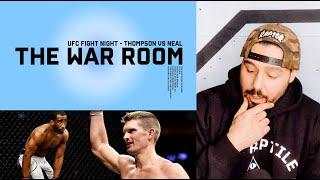 STEPHEN 'WONDERBOY' THOMPSON VS GEOFF NEAL - THE WAR ROOM, DAN HARDY BREAKDOWN EP. 91