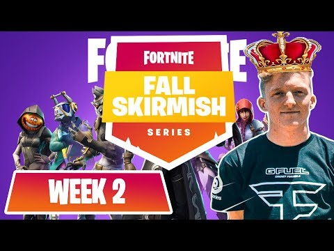 $10M Fortnite Fall Skirmish *ALL GAMES*  (WEEK 1) #FortniteBR FT. NINJA, TFUE, NICK EH 30