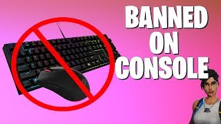 Epic is BANNING Keyboard and Mouse on PS4