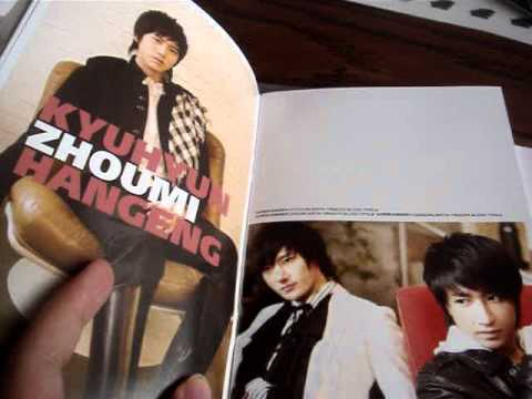 Super Junior M 迷(Me) Album Unboxing
