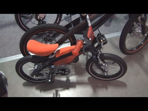 BMW Kidsbike Red with pedals Exterior and Interior in 3D