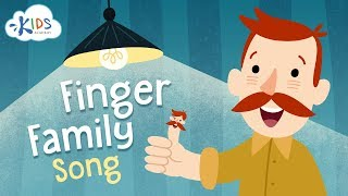 Finger Family Song - Children Song with Lyrics - Nursery Rhymes | Kids Academy