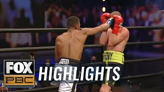 Anthony Dirrell vs. Kyrone Davis: Best from the PBC prelims | HIGHLIGHTS | PBC ON FOX