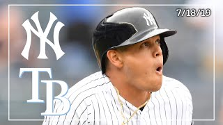 Tampa Bay Rays @ New York Yankees | Game Highlights | 7/18/19