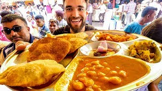 LIVING on $1 INDIAN STREET FOOD for 24 HOURS!