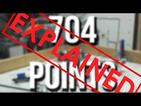 FLL World Class Robot 704 points : Explained!