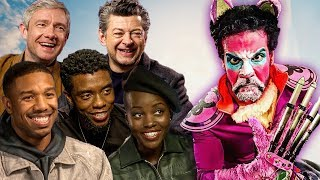 BLACK PANTHER Cast vs The Purple Grumpy Cat!