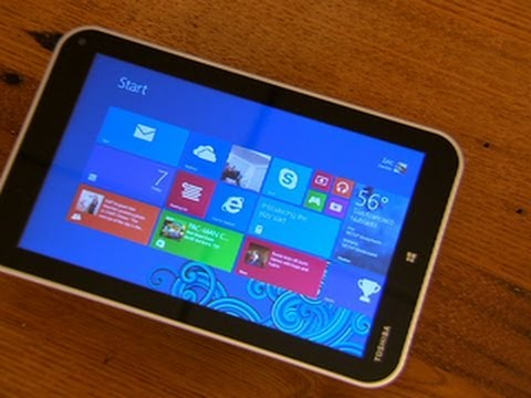 The Toshiba Encore 8 is fast, bulky, and packed with useful features