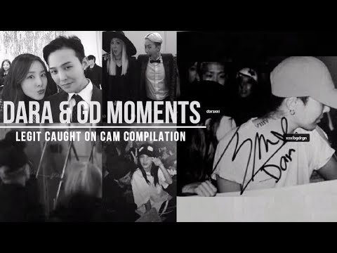 Dara & GD Caught On Cam Moments (Legit Compilation)