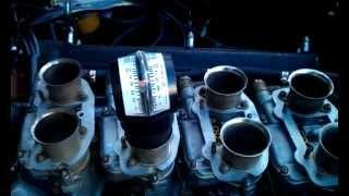 Maserati Ghibli DCNL carburetors after synching