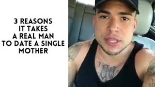 3 REASONS IT TAKES A REAL MAN TO DATE A SINGLE MOTHER.👌