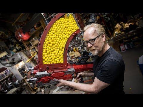 Adam Savage's One Day Builds: 1000 Shot NERF Blaster!
