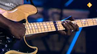 Marcus Miller - Jean Pierre (amazing solo on bassgitar) and battle between sax and bass.