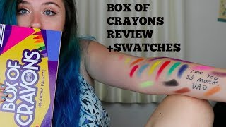 Box of Crayons Review+Swatches