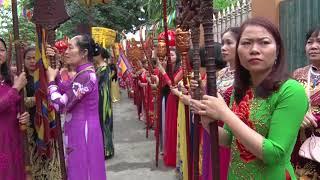 Lễ hội truyền thống Đình Hoa Xá - Minh Ngự Lâu - Tả Thanh Oai - Xuân Mậu Tuất 2018 (02)