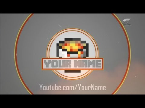 17 free 2d minecraft intro template for cinema 4d